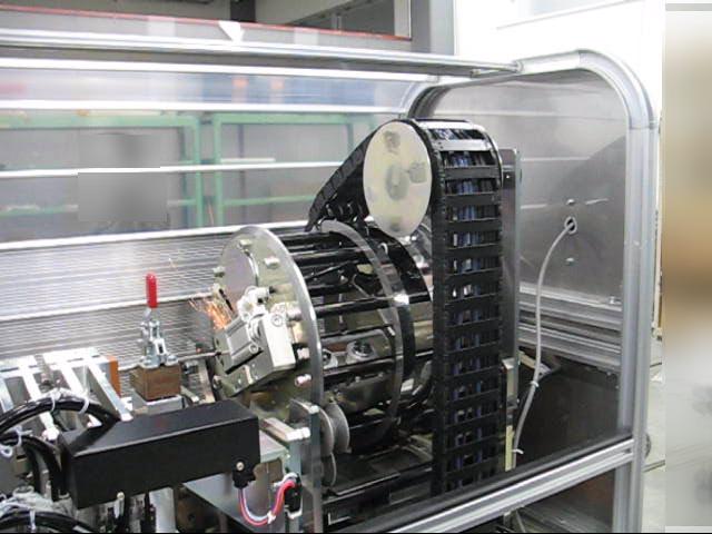 溶接機バリ取り装置